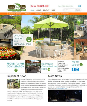 Creative Design Space | Website by Gale Force Web Pros