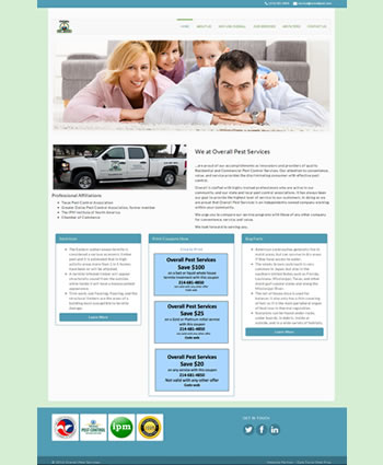 Overall Pest Services | Website by Gale Force Web Pros