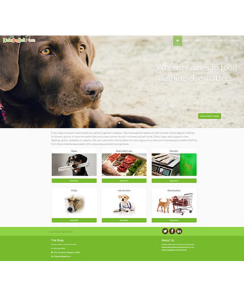 Rick's Dog Deli | Website by Gale Force Web Pros